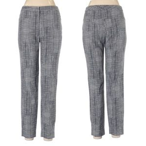 Lela Rose Tweed Patterned Cotton Blend Pants